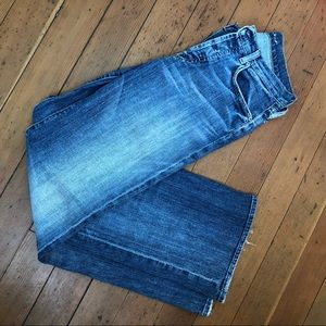 7 For All Mankind Distressed Jeans Relaxed Fit